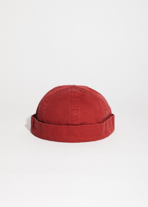 Marin Miki Canvas Cap in Rouge