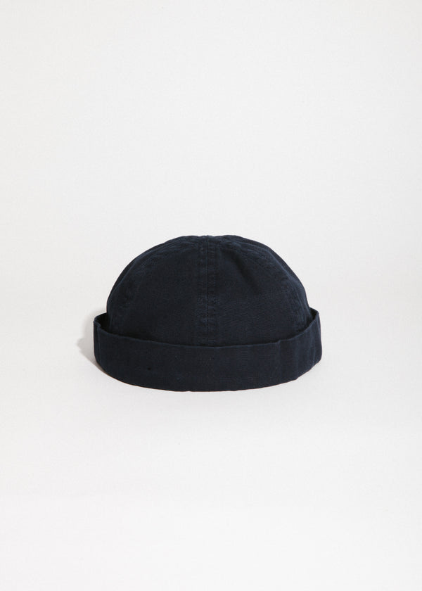 Marin Miki Canvas Cap in Navy