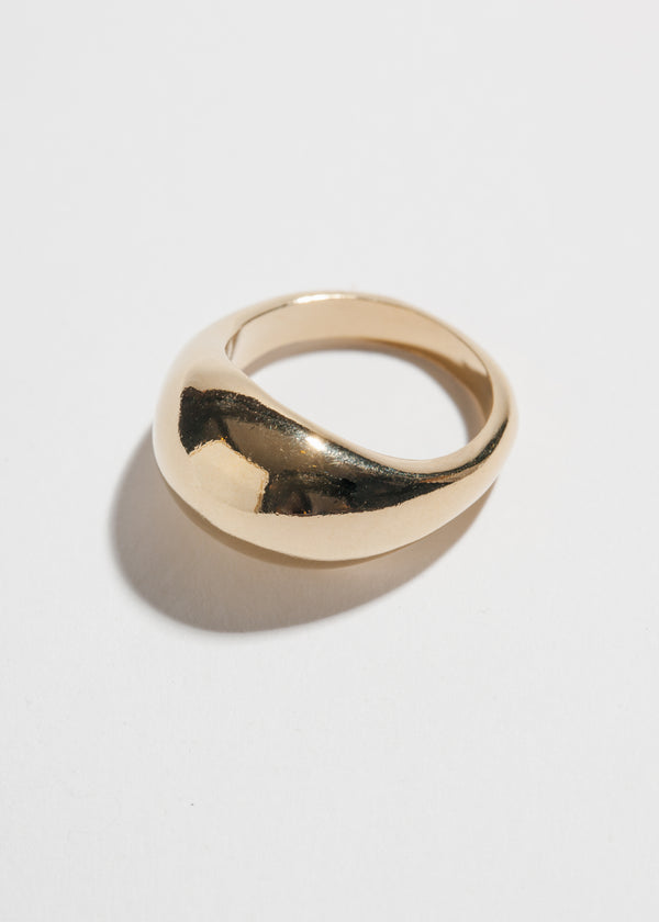 Magnes Ring in 14k Plated