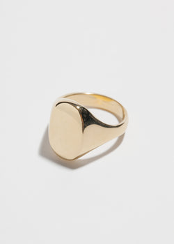 Eliot Signet in 14k Plated