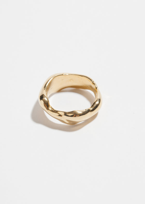 Droplette Ring in 14k Plated