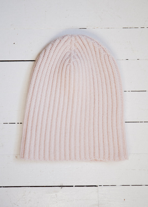 The Cashmere Beanie, Peony