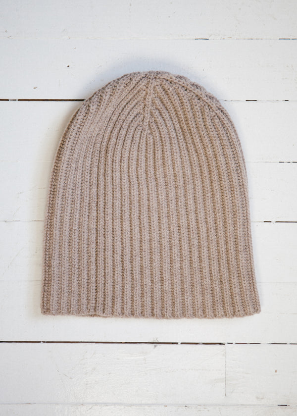 The Cashmere Beanie, Fawn