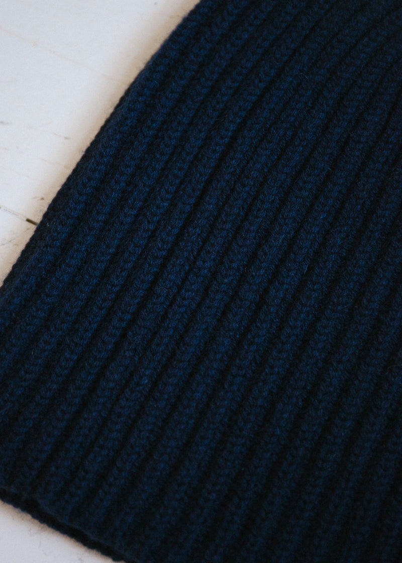 The Cashmere Beanie, Navy
