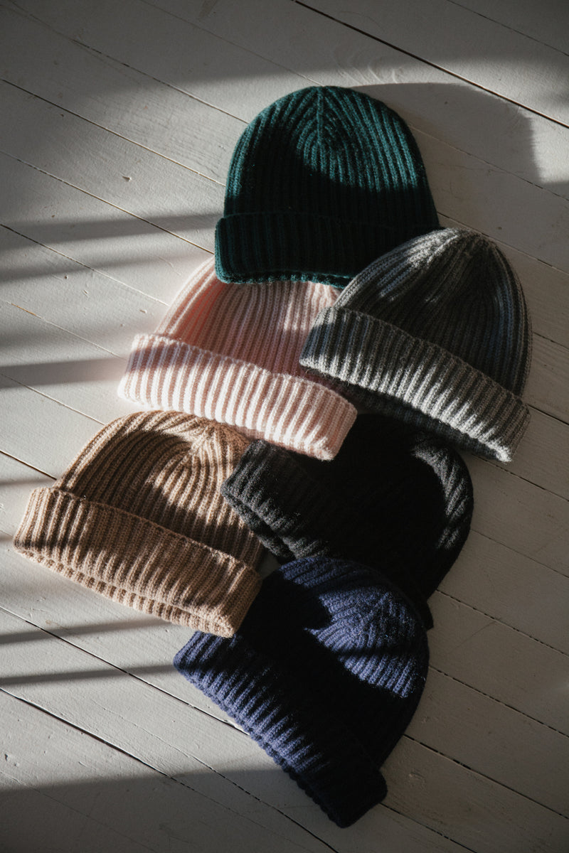 The Cashmere Beanie, Flannel