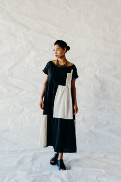 Swing Dress - ink and parchment