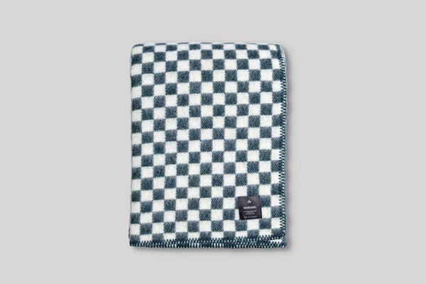 Norden Ostermalm Wool Throw Blanket (Forest)