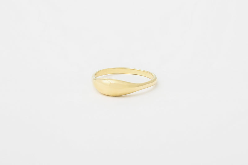 14k Ovate IV Ring