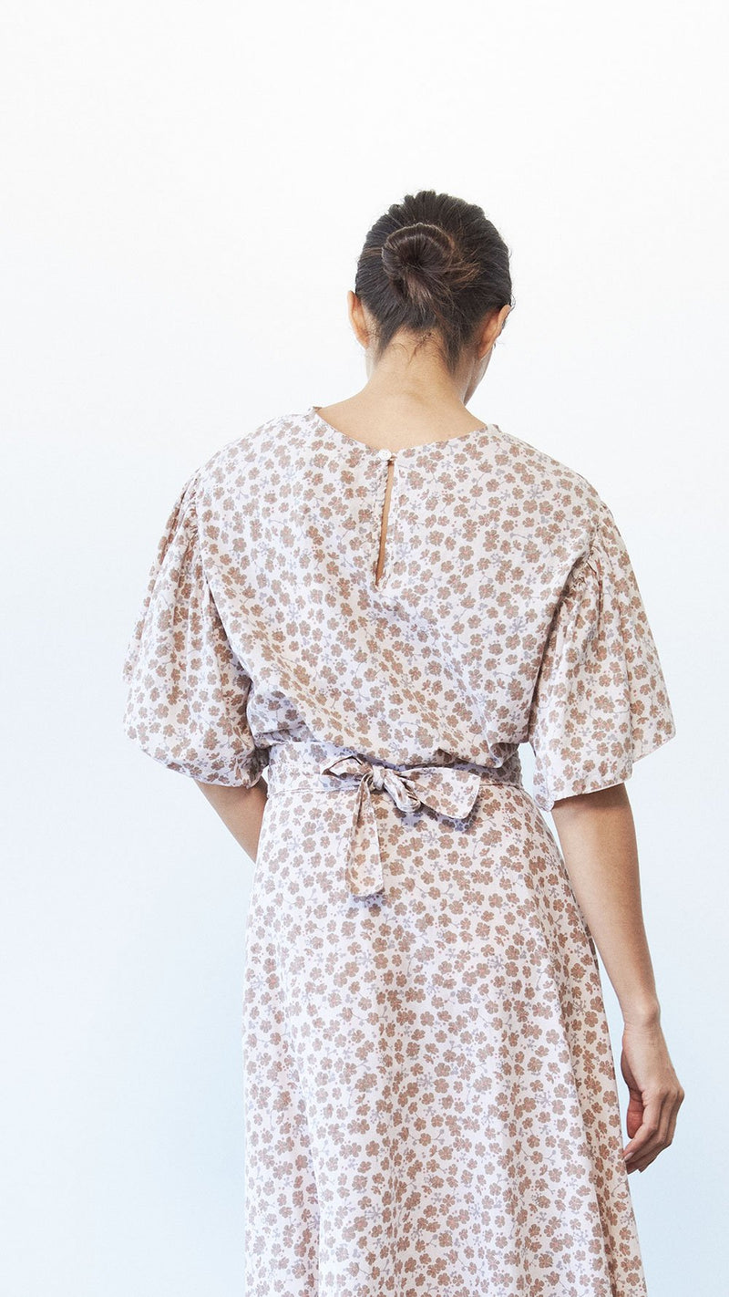 Bell Top / Petite Floral Cotton