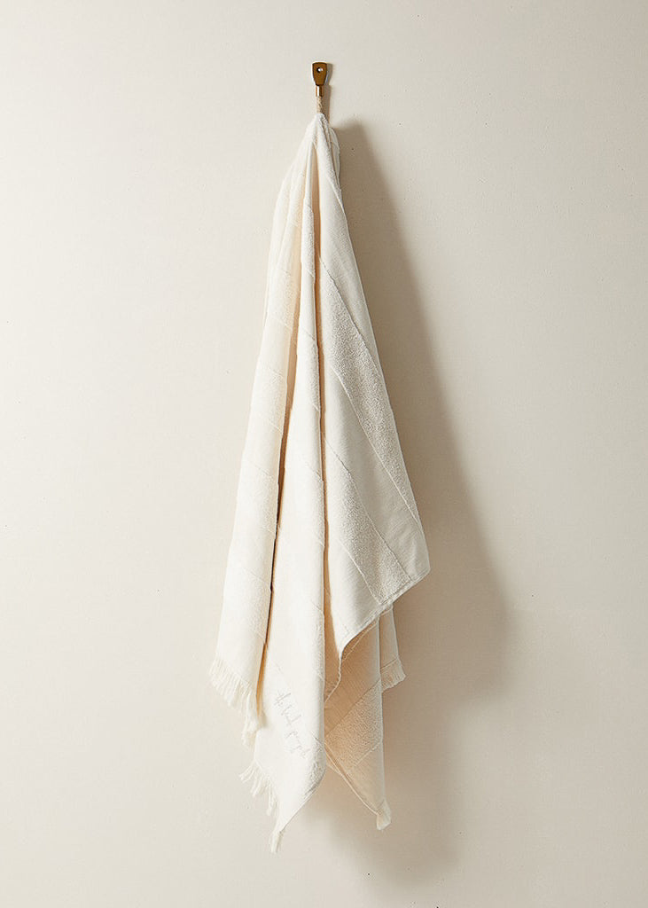 Turkish Pool Towel in Seaside Cream