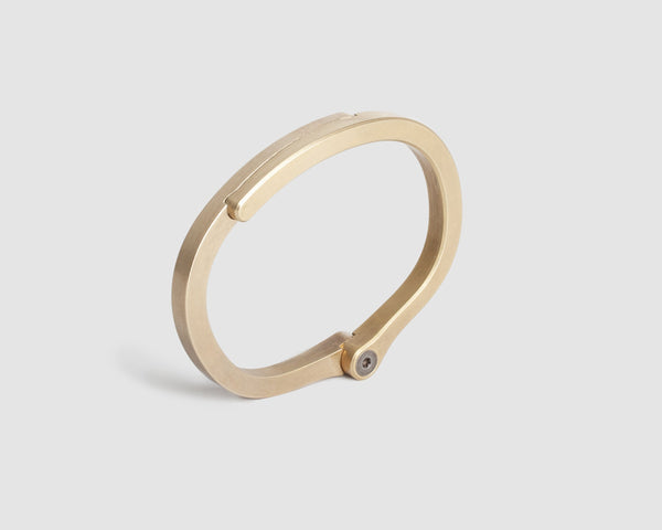 Ridge Cuff / Brass