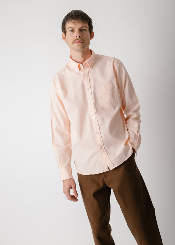 Classic Collegiate Shirt, Shell Oxford