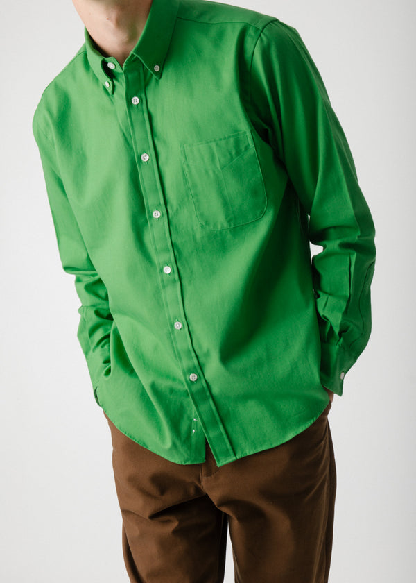 Classic Collegiate Shirt, Turf Oxford