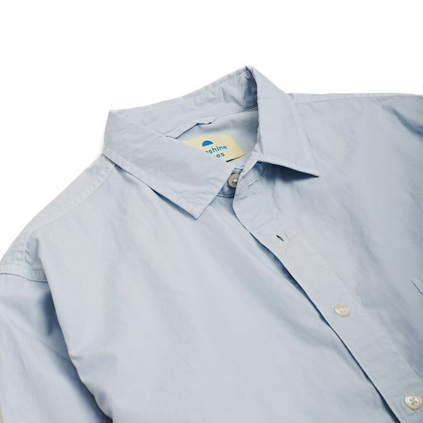 Long Sleeve Shirt in Baby Blue