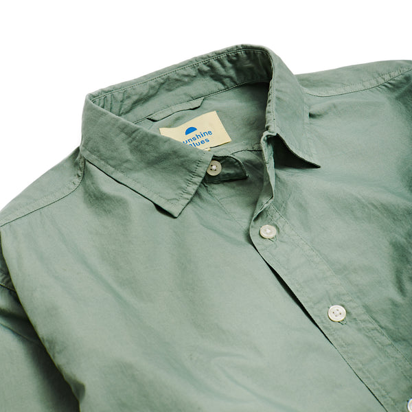 Long Sleeve Shirt in Summer Olive