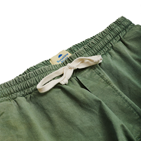 Drawstring Pants in Summer Olive