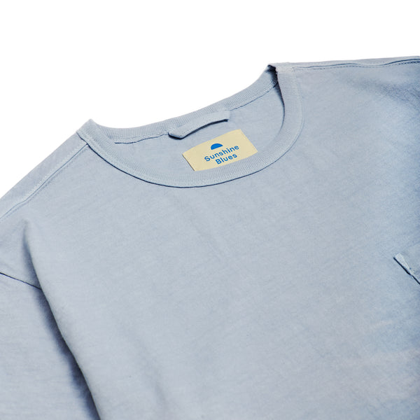 T-Shirt in Baby Blue