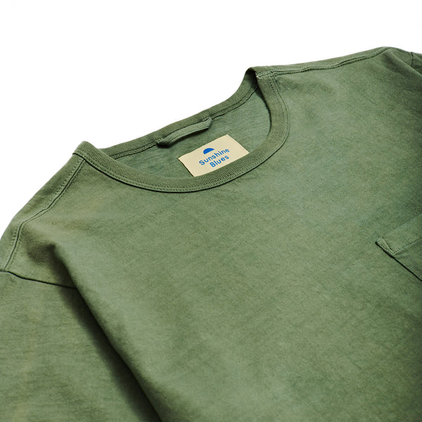 T-Shirt in Summer Olive