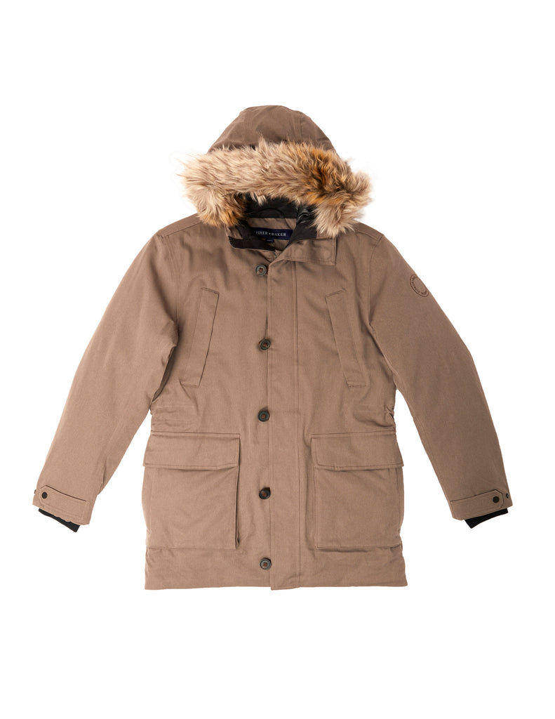 Manitou Parka in Morel
