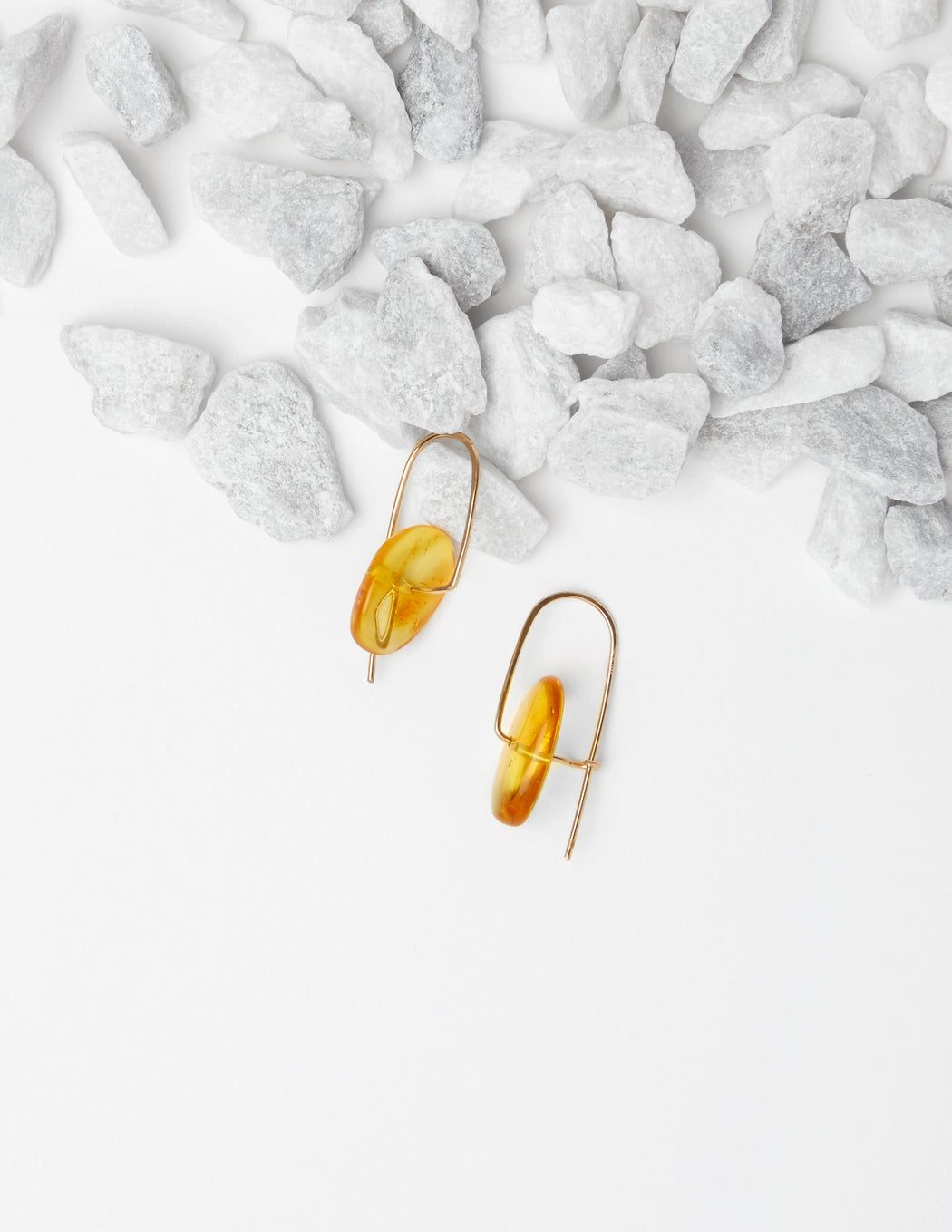 Stone Mobile Earrings (more colors)