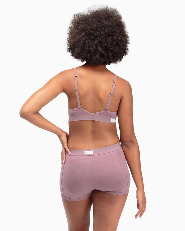 Cutout Bratette in Plum