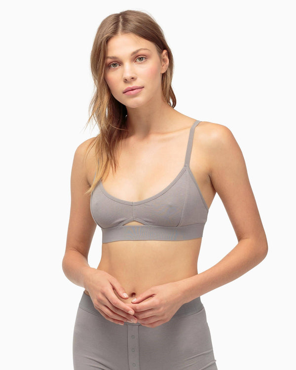 Cutout Bratette in Charcoal