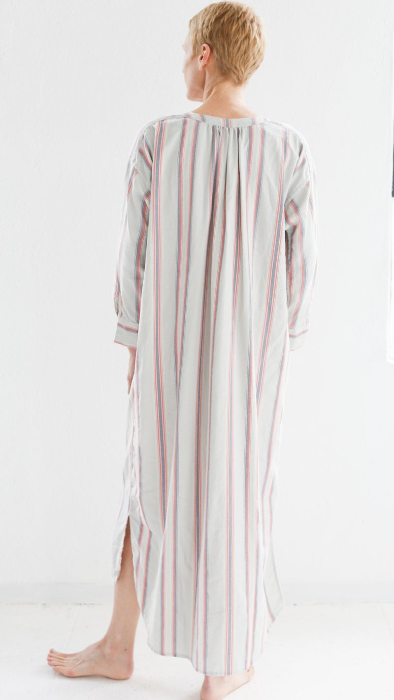 Sleeping Tunic / Striped Twill