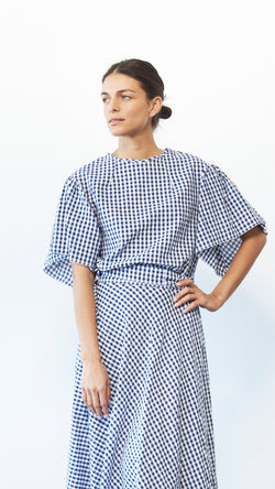 Bell Top / Gingham