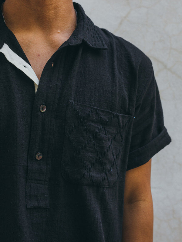 SS CEDAR SHIRT iron kala cotton