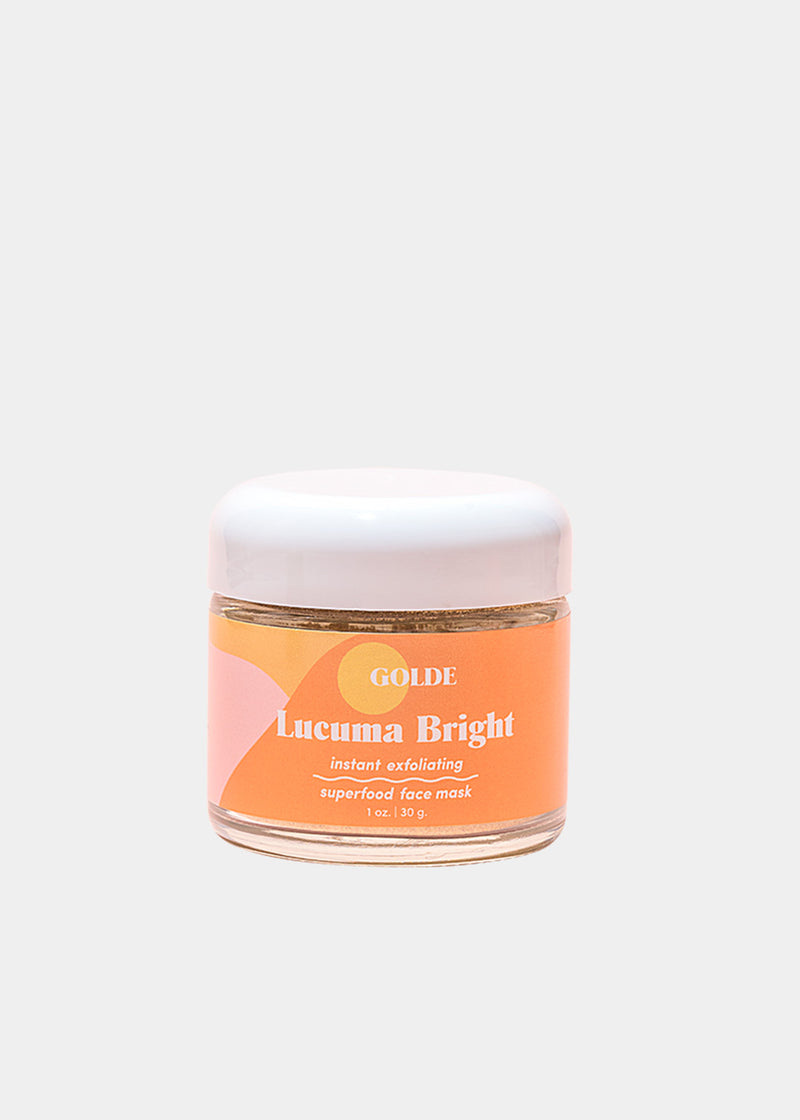Lucuma Bright Exfoliating Face Mask