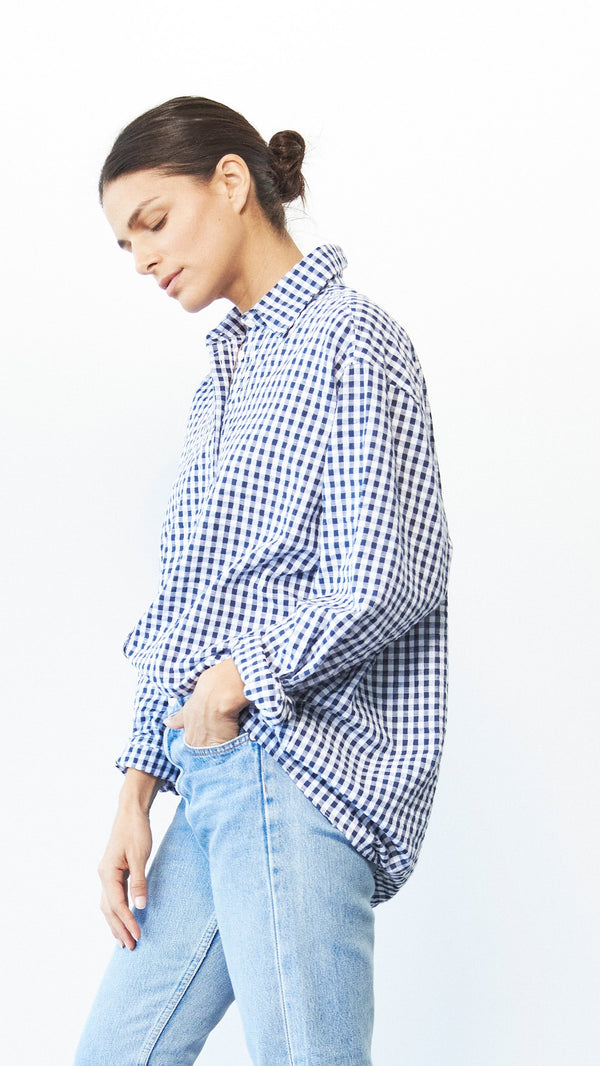 Iris Shirt / Gingham (Pre-sale, Ships July 1)