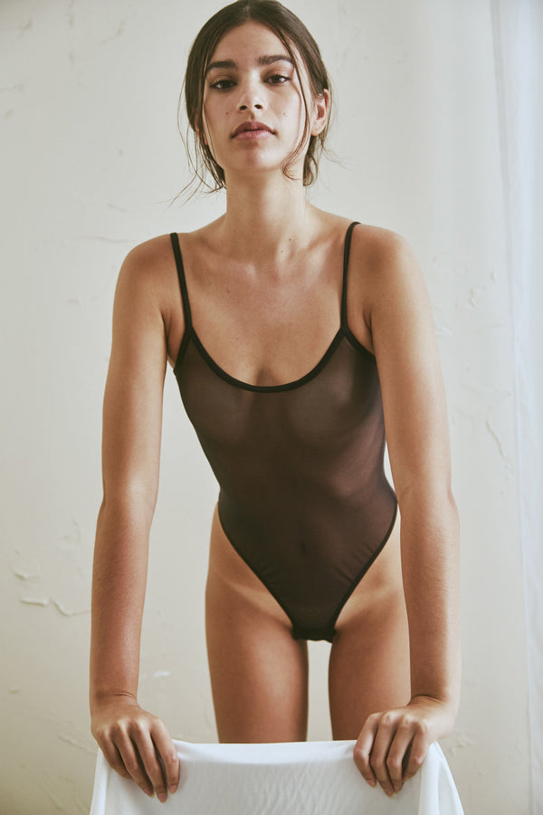 Canova Bodysuit in Black