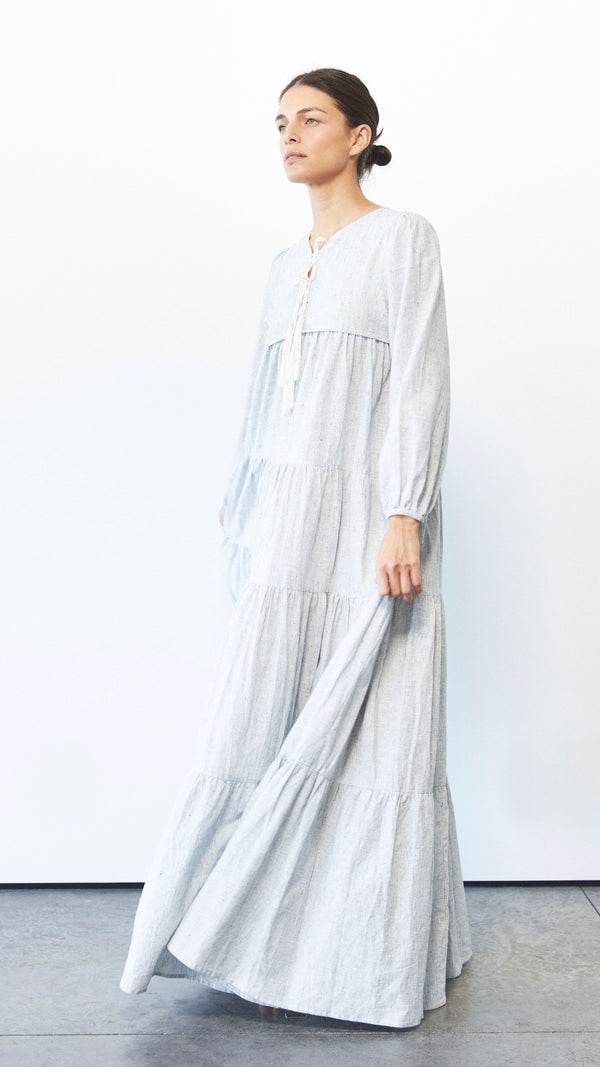 Thea Maxi, Hemp Stripe