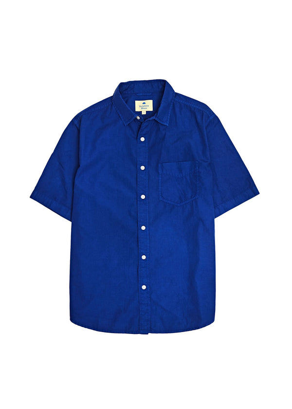Short Sleeve Shirt in Twilight Blue