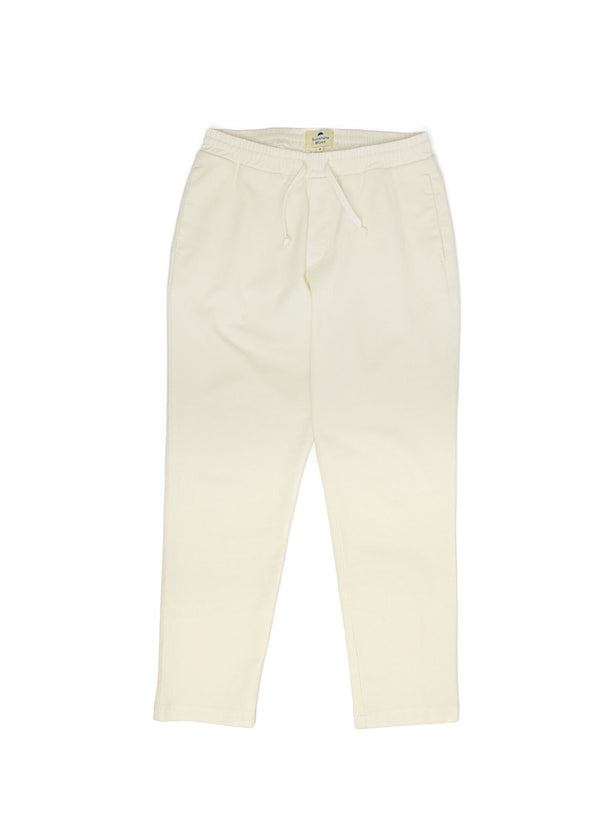 Drawstring Pants in Antique White