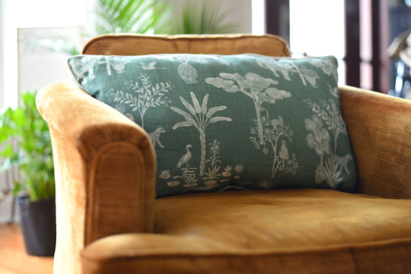 Custom Pillow | Jungle Garden