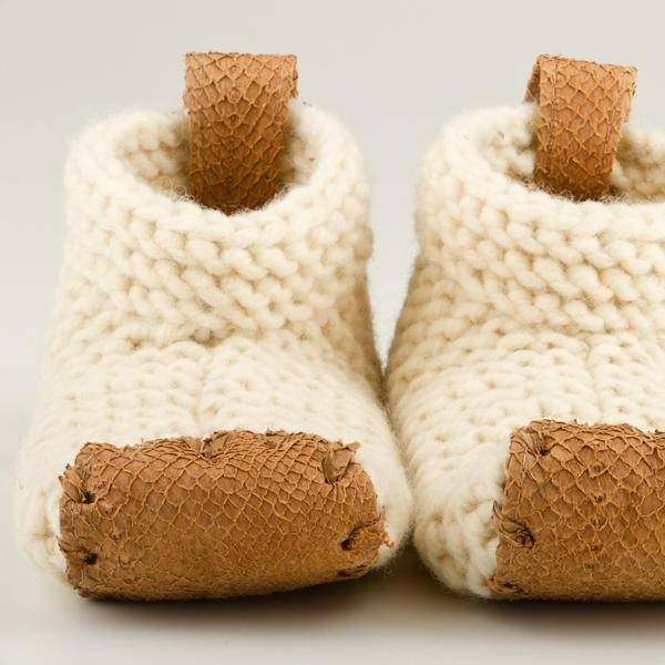 Handwoven Wool House Shoes