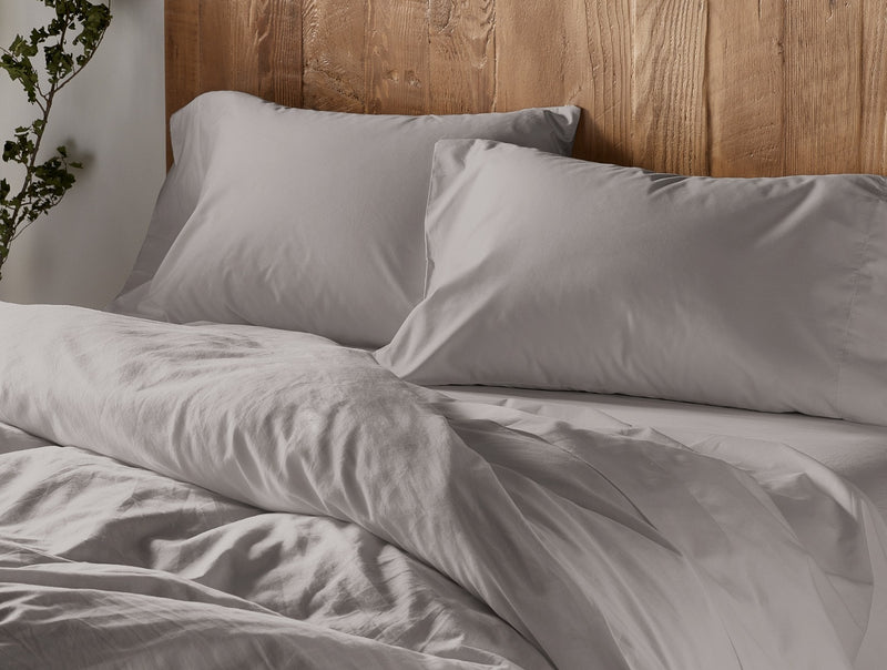 Organic Sateen 300 Thread Count Duvet Cover