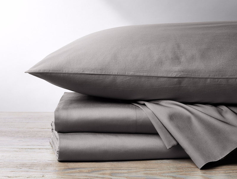 Organic Sateen 300 Thread Count Sheet Set