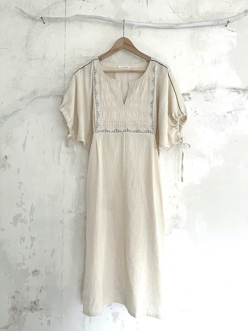 UNION DRESS Natural wild cotton