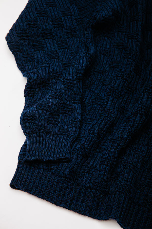 Carlisle Sweater in Navy