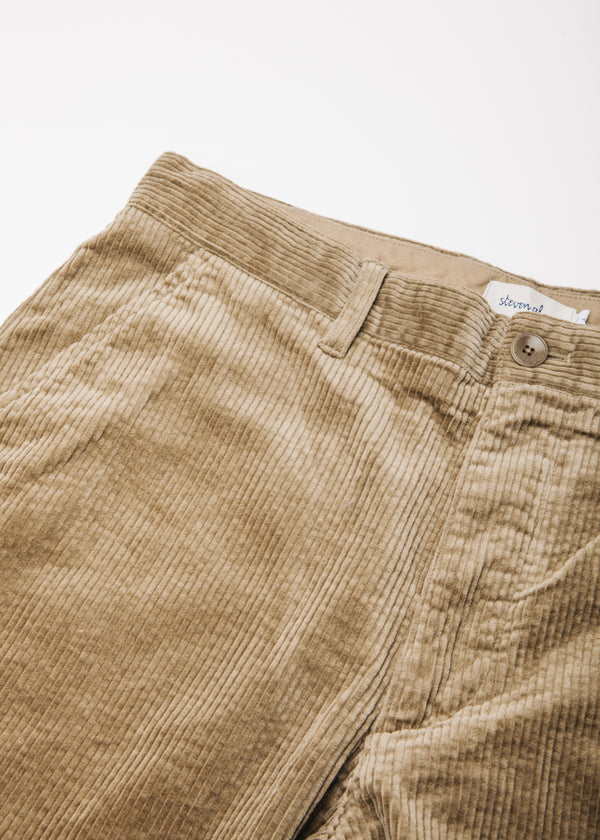 Corduroy Peg Pant in Natural