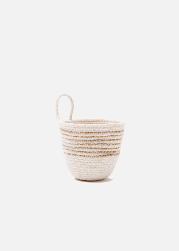 Mini Planter in Jute + Natural