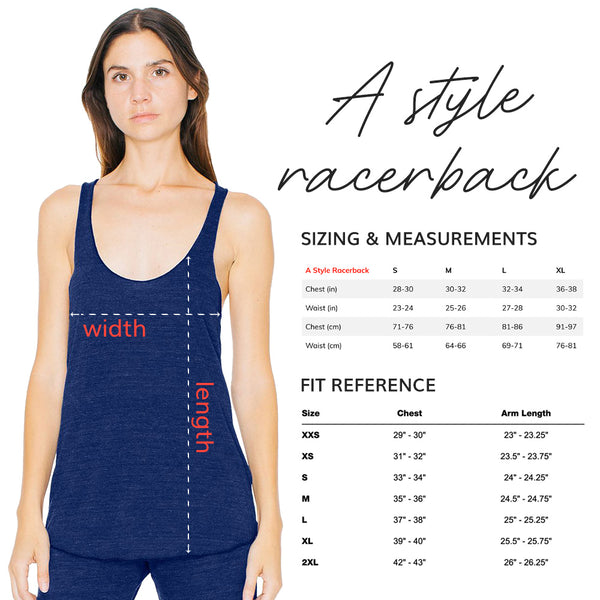 I'm Only Here for the Savasana Racerback