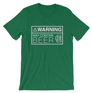 Warning: May Contain Beer Shirt