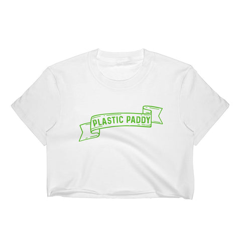Plastic Paddy Crop Top
