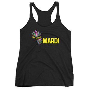 Life of the Mardi Racerback Tank