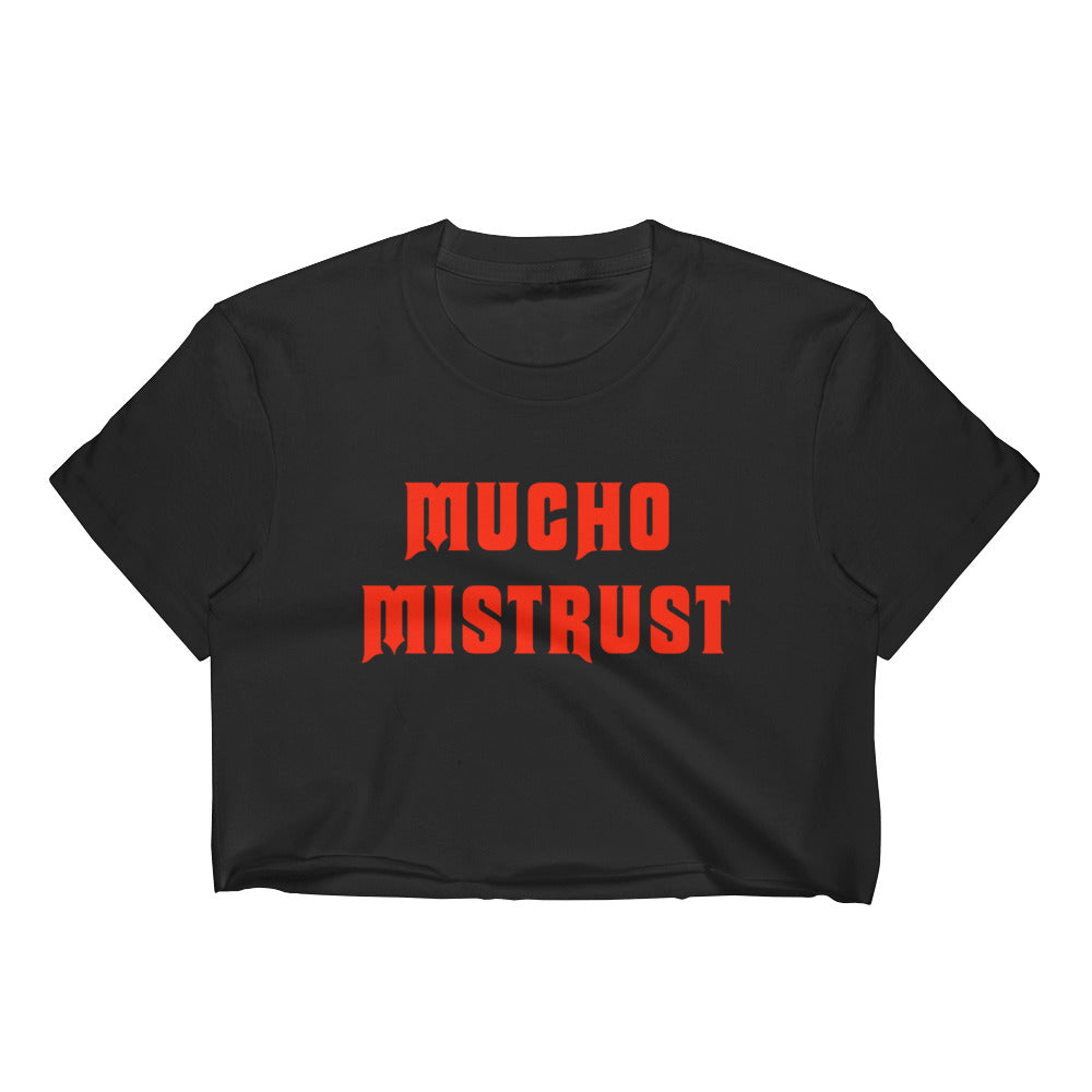 Staff Pick: Blondie's Mucho Mistrust Crop Top