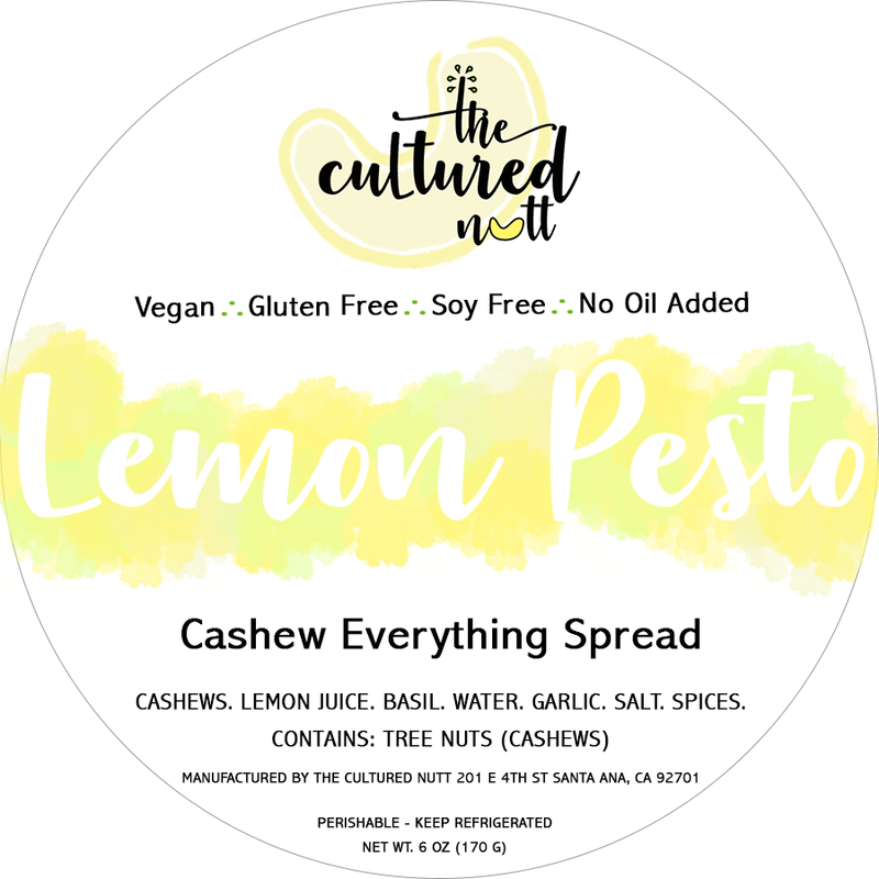 Lemon Pesto Everything Spread