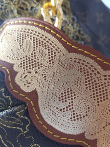 Limited Edition Louis Vuitton Dentelle Handbag